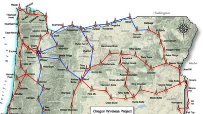 Oregon builds statewide network
