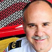 Photo of Charles Werner, chief of the Charlottesville (Va.) Fire Department and