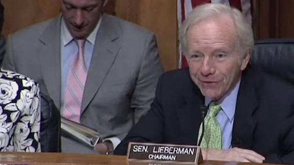 Lieberman on emergency communications