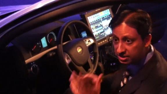 Motorola demos concept patrol car