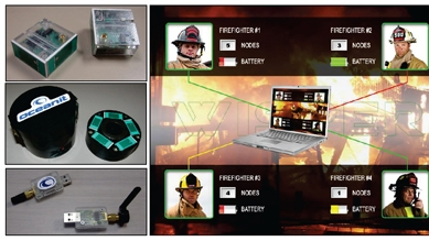 Firefighter location-tracking prototype ready for market