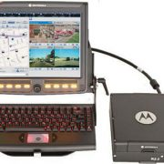 Screenshot of the 2.0 release of Motorola's MW810 mobile work stations