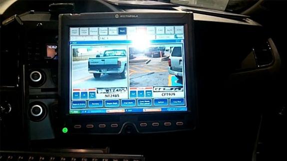 Motorola showcases high-tech patrol car