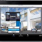 On24's mobility component dubbed MOVE (mobile virtual environments) on an iPad