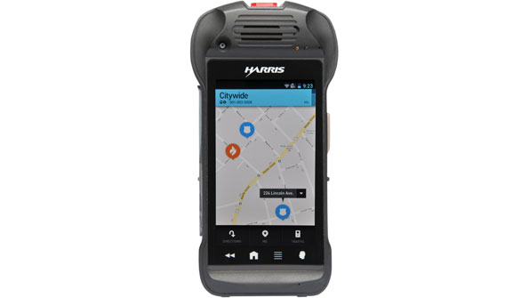 Harris introduces new public-safety LTE smartphone