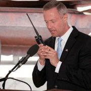 Photo of Gov. Martin O'Malley making the first call on Maryland FiRST