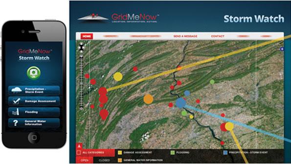 Pennsylvania County deploys White Canvas app as part of Sandy response