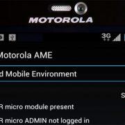 Screenshot of Motorola's AME 2000 solution