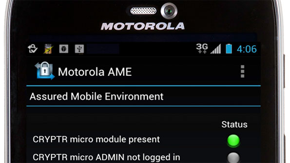 Motorola solution secures Android communications