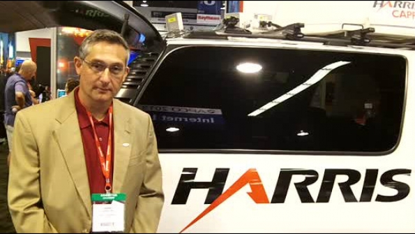 Harris showcases deployable LTE/LMR solution with satellite backhaul