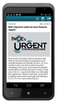 Android App - Urgent Communications