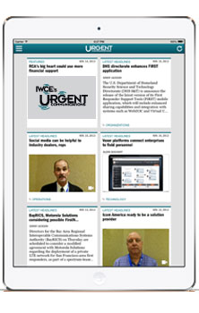iPad App - Urgent Communications
