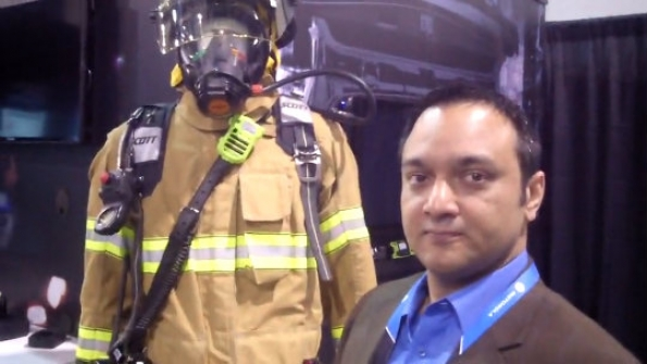 Motorola Solutions: Connected firefighter shares vital information automatically