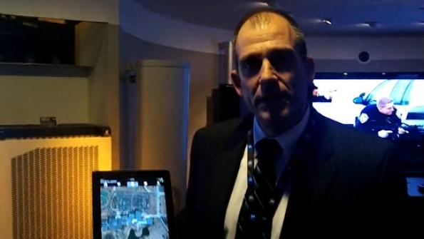 Drakontas: CTO Alan Kaplan demonstrates mobile-collaboration capability