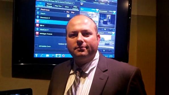 Motorola Solutions: Ryan Seick demonstrates prioritization scenarios for public-safety LTE