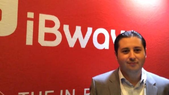 iBwave: Mekki Bennis demonstrates mobile application to model in-building coverage