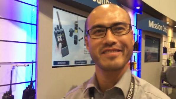 JVCKENWOOD: Kentaro Abe showcases company's biometrics solution