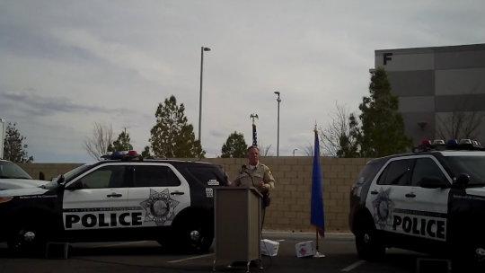 Motorola Solutions: Las Vegas Metro Police Department Sheriff Joseph Lombardo applauds performance of new radio system