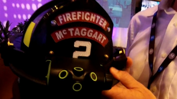 Motorola Solutions: Thermal-sensor prototype designed for integration into firefighter gear