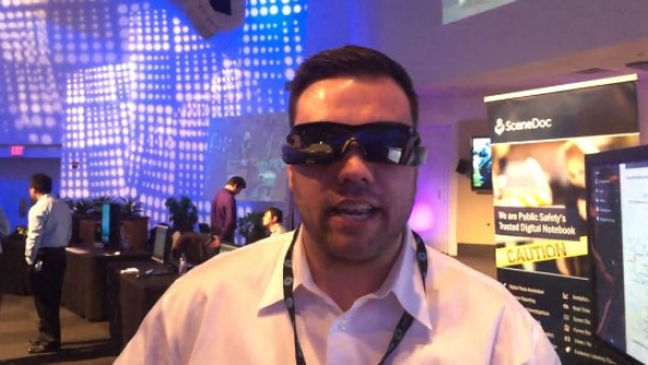 Motorola Solutions: Daniel Dakessian demonstrates sensor-driven connected police officer solution