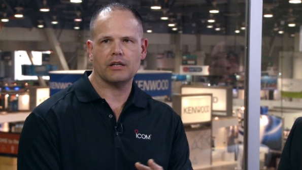 Icom America: Mark Jordan describes IP advanced radio system that addresses in-building issues with Wi-Fi