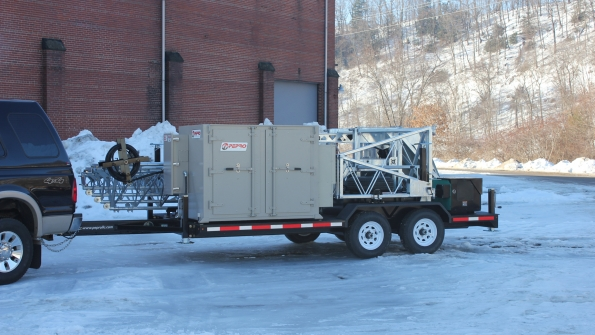 Pepro unveils new 60-foot deployable tower at IWCE 2015