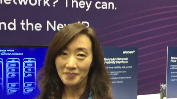 Brocade: Heeseon Lim outlines the capabilities of the company's virtual evolved-packet-core solution
