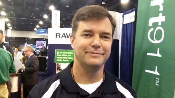Rave Mobile Safety: Todd Piett demonstrates capabilities of company's Smart911 solution