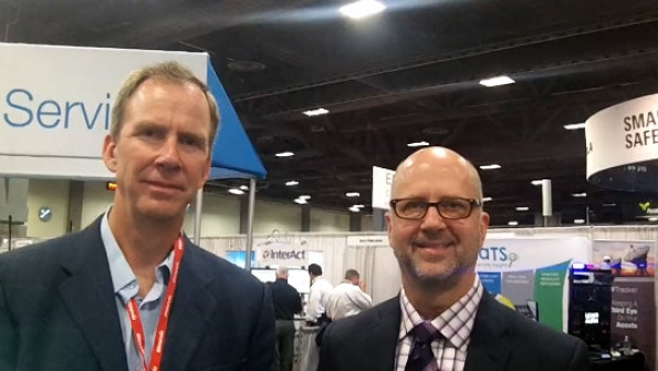 Kodiak-Airbus: Bruce Lawler, Marty Christensen demonstrate push-to-talk interoperability between standards-based P25, LTE solutions
