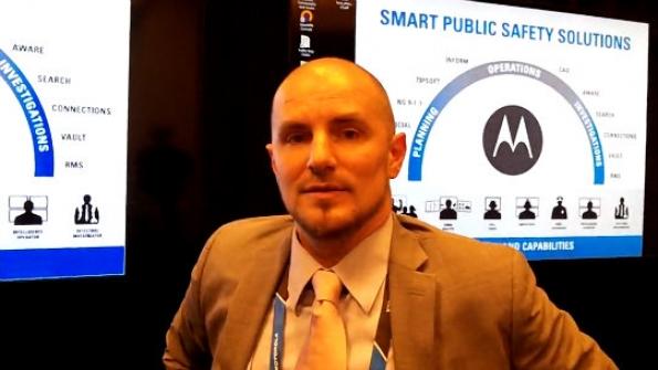 Motorola Solutions: Steve Sebestyen explains how broad product portfolio helps public safety