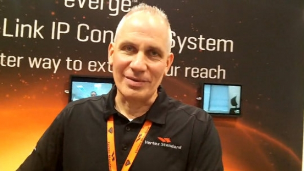 Vertex Standard: Mike Petersen details features of new DMR portable radios