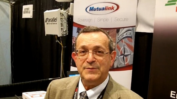 Mutualink: Mike Wengrovitz showcases non-wearable IoT device featuring Intel's Edison chip
