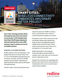 SMART CITIES: WIRELESS CONNECTIVITY ENHANCES AMI/SMART METER PROJEC