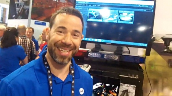 Motorola Solutions: Joe Friedman demonstrates in-car 4K video solution