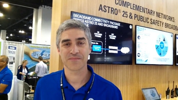 Motorola Solutions: Dan Langrill highlights capabilities of ASTRO 25-LTE interoperability solution