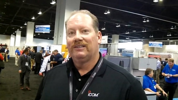 Icom America: Paul Wardner outlines features of company's new P25 radio