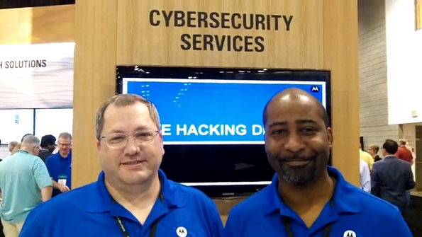 Motorola Solutions: Kirk Miller and Wendell Robinson demonstrate potential hack of LMR system