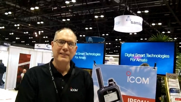 Icom America: Mark Behrends highlights features of new IP501H device, LTE radio service