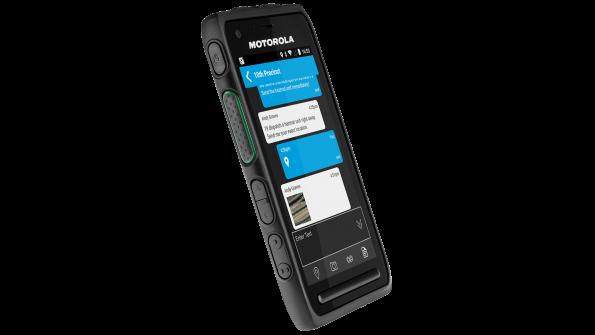 Motorola Solutions unveils new mission-critical LTE smartphone