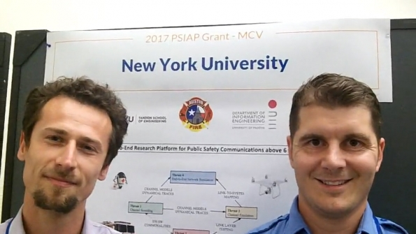 NYU and Austin FD: Marco Mezzavilla and Alex Zottarelli discuss mm-wave project, benefits of collaboration