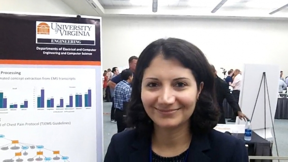 Univ. of Virginia: Homa Alemzadeh, Mustafa Hotaki showcase 'Siri for first responders' to help EMS