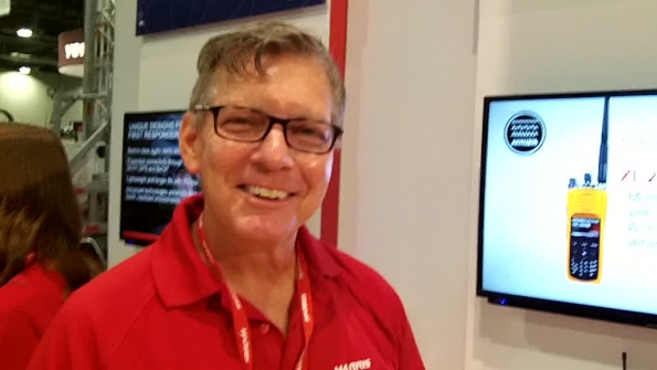 Harris: Don Griffis highlights features of SCBA integration with XL-200 P25/LTE device