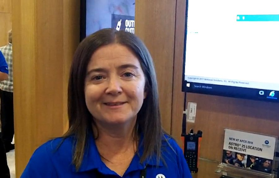 Motorola Solutions: Jennifer Mitchell highlights upcoming location-on-receive capability on ASTRO 25 systems