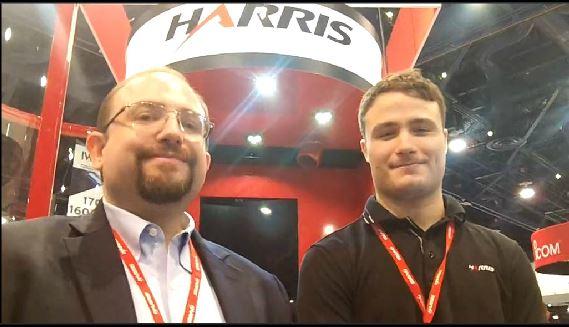 Harris: Jeremy Elder, Tim Steltzer demonstrate noise-cancellation capabilities in wind booth