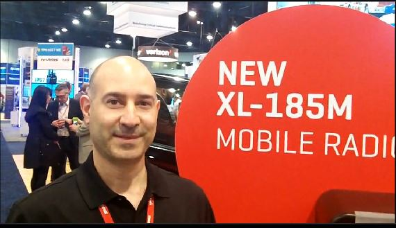 Harris: John Serio showcases new LMR-LTE mobile radio