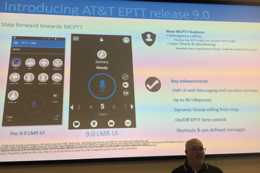 AT&T FirstNet highlights new EPTT features, future promise of MCPTT