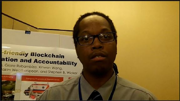 Cornell University: Danny Adams explains how blockchain technology could work for public safety