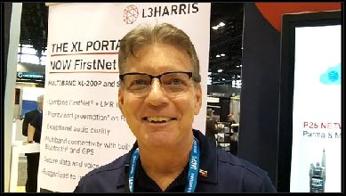 L3Harris: Don Griffis explains the significance of XL-200P and XL-185P portable radios with LTE being certified as FirstNet Ready