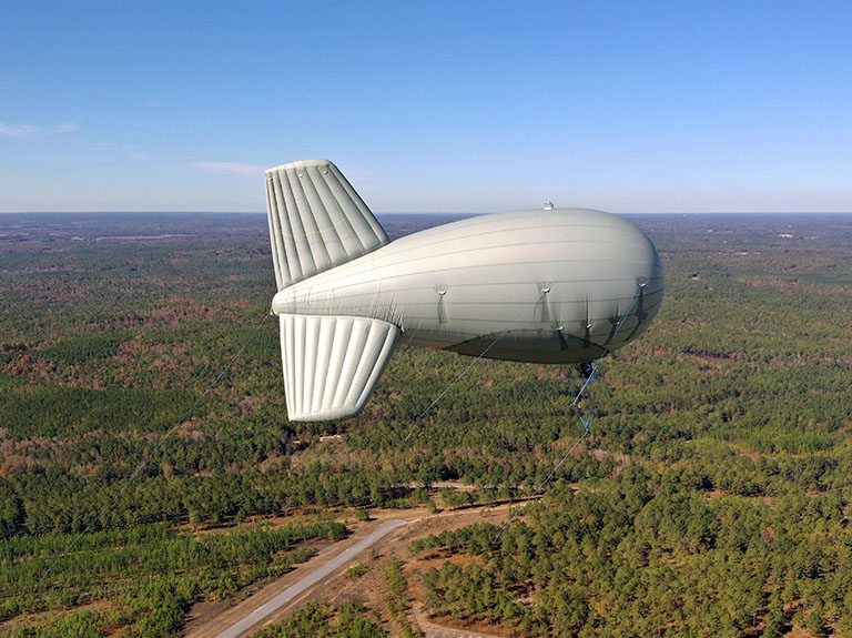 FirstNet One deployable blimp provides LTE coverage option for longer-term response efforts
