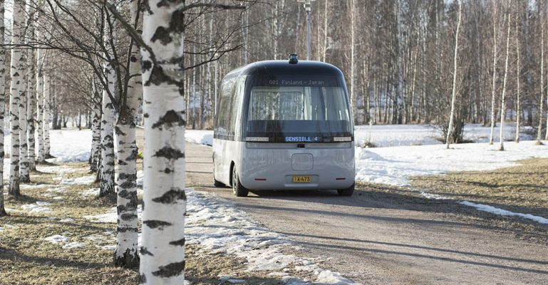 Robot-bus trial succeeds … mostly